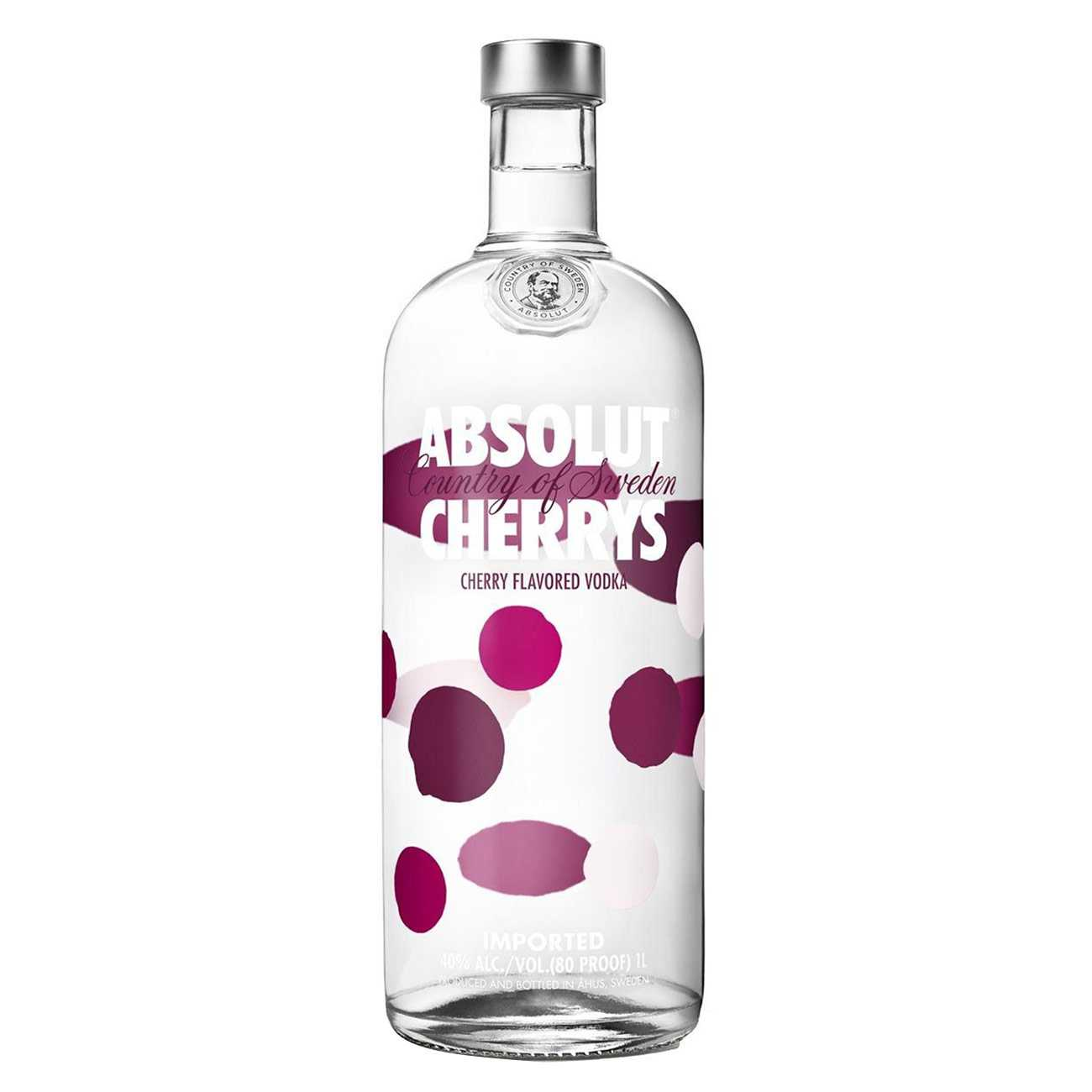 Vodka, VODKA CHERRYS 1000 ML, Absolut