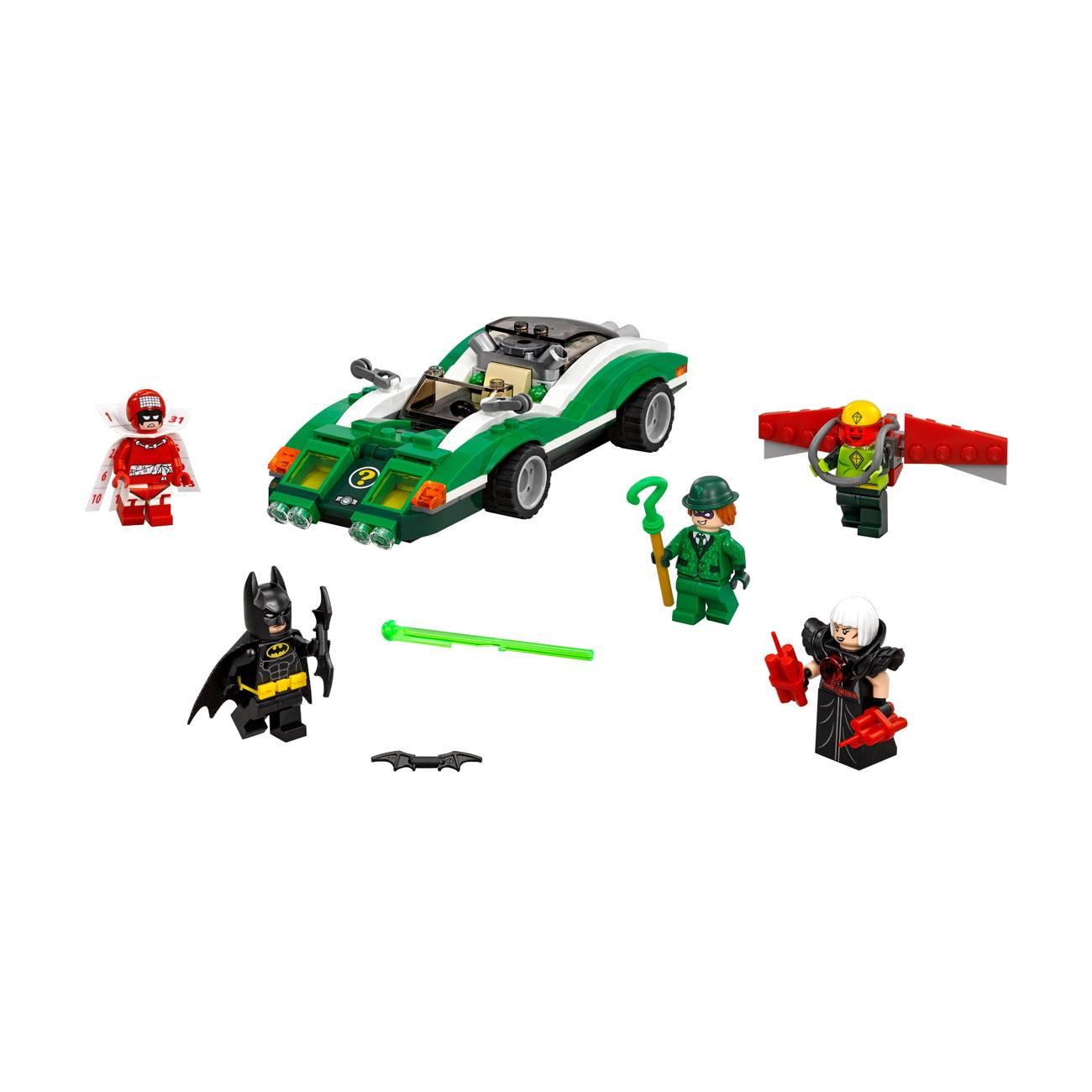 BATMAN MOVIE THE RIDDLER RIDDLE RACER