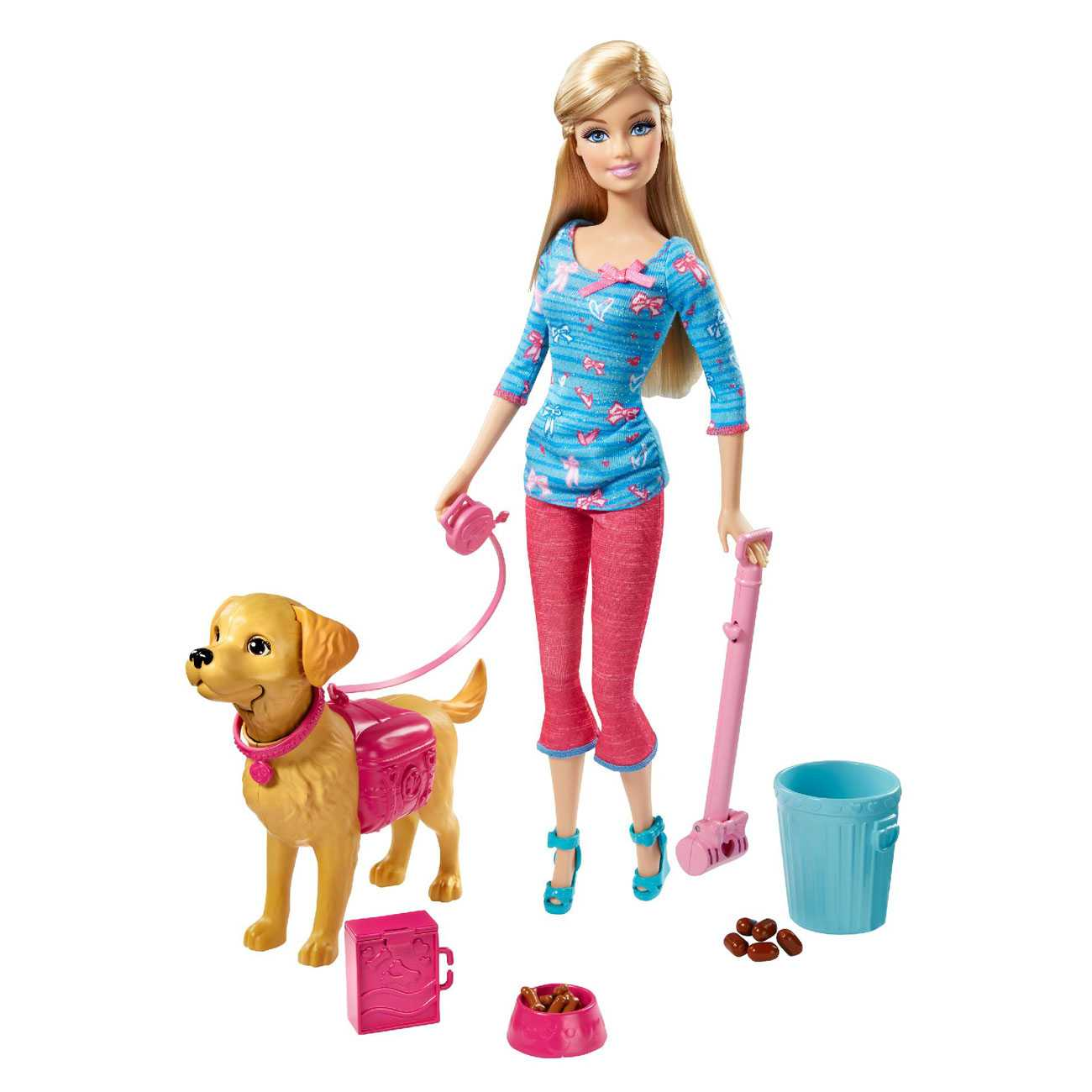 BARBIE DOLL AND PET PLAYSET
