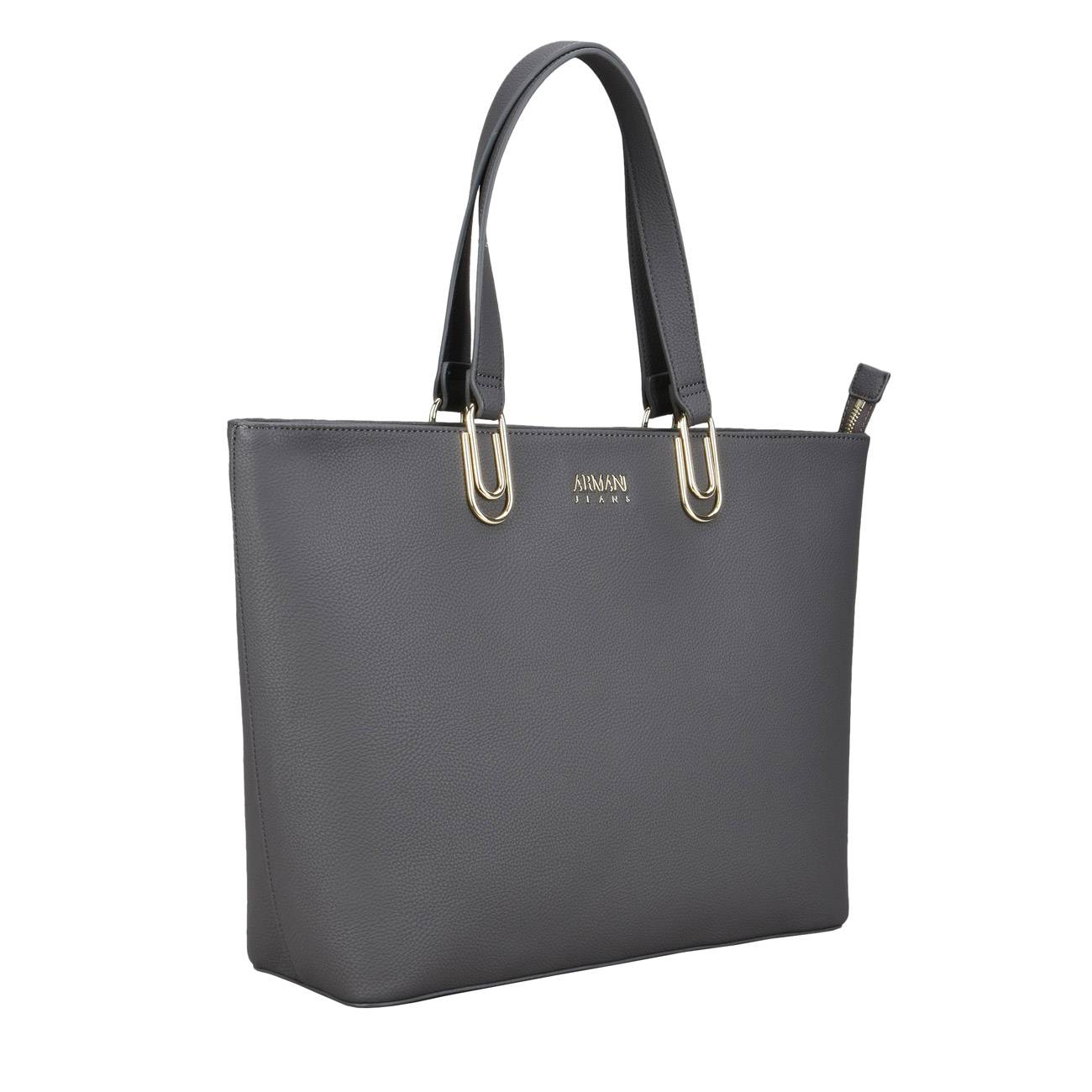 ANTHRACITE SHOPPER BAG