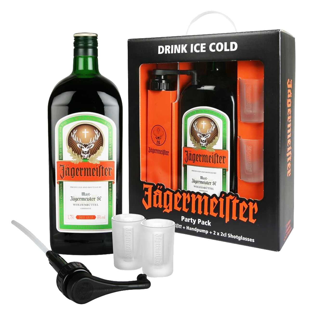 Lichior, PARTY PACK 1750 ML, Jagermeister