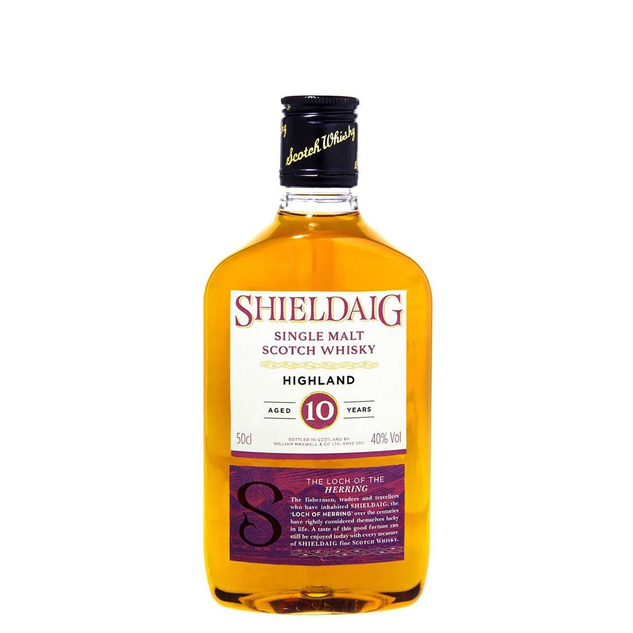 Whisky scotian, 10Y 500 ML, Shieldaig