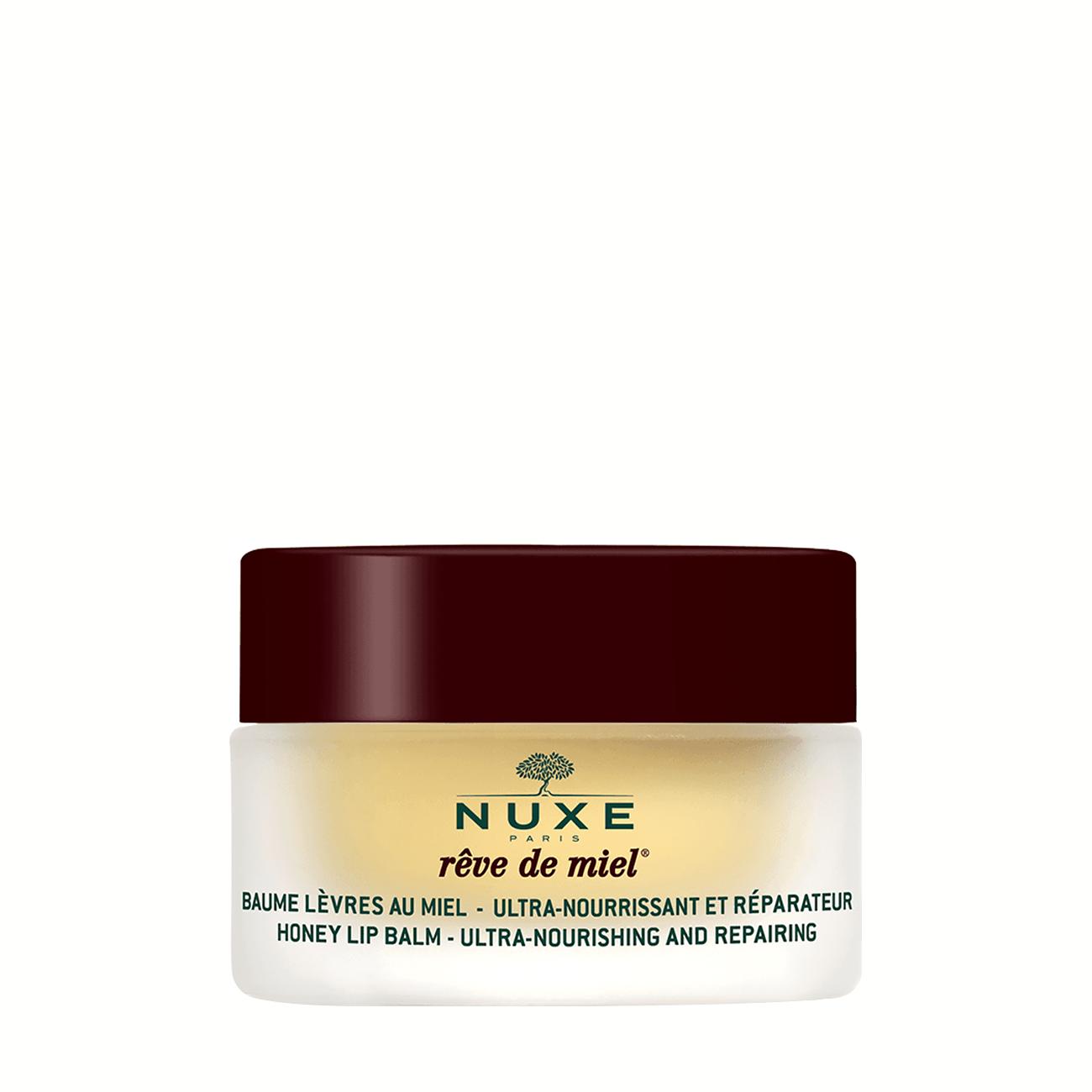 Reve De Miel- Honey Lip Balm 15gr Nuxe imagine 2021 bestvalue.eu
