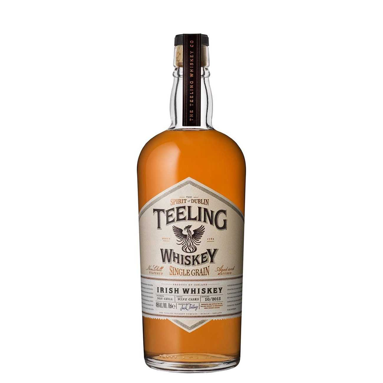 Whisky irlandez, SINGLE GRAIN 700 ML, Teeling