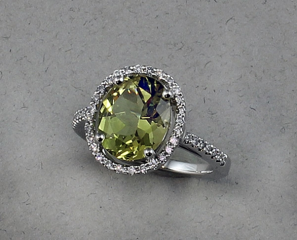 kavels gold from light vintage soviet green sapphire set union with ring