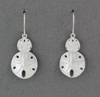 Betsy Frost - Sand Dollar Earrings - ES-S&M