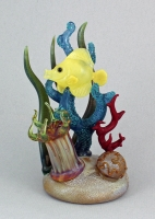 Jeremy Sinkus - Yellow Tang Reef Sculpture