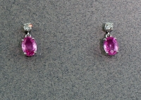 Michael Chang - Sapphire & Diamond Post Earrings MC-12152-08