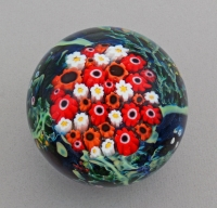 Shawn Messenger Paperweight: Large Poppy & Daisy