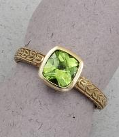 C. Priolo: Terry Seaver - Ring Peridot S-2615