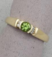 C. Priolo: Terry Seaver - Ring Peridot SD-387