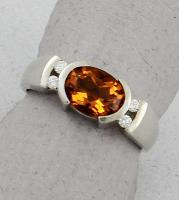 C. Priolo: Terry Seaver - Ring Citrine SD735
