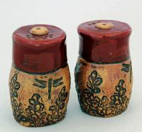 Dirty Dog Pottery: Salt & Pepper - Eden in Brick