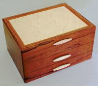 Heartwood Creations - Jewelry Box - HW04 - 2 Drawer