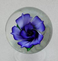 Kelly Powell - Marble - KP12 Blue Edged Flower