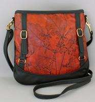 Leaf Leather:  LL18 Double Buckle Bag
