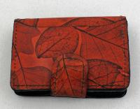 Leaf Leather: LL22 ID Wallet with Compartment