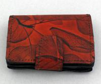 Leaf Leather: LL23 ID Wallet with Compartment