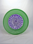 Prescient Studios - Green and Purple Platter