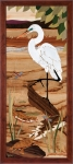 Hudson River Inlay - Egret