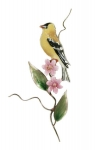 Bovano - W464 - Goldfinch with Asters