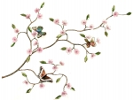 Bovano - B901 - Cherry Blossom Branch and Butterflies
