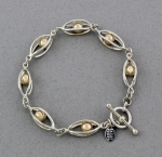 Betsy Frost - Caged Ball Bracelet - B284