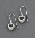 Betsy Frost - Puffy Heart Earrings - E29FM