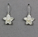 Betsy Frost - Plumeria with Pearl Earrings - EFLS