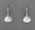 Betsy Frost - Scallop Medium Dangle Earrings - ESCM