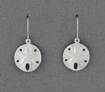 Betsy Frost - Sand Dollar Dangle Earrings - ESM