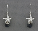 Betsy Frost - Sea Star Dangle Earrings with Labradorite - ESTM/LAB