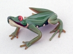 Scott Bisson - Frog Sculpture - Poison Dart