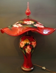 Charles Lotton - Selinium Red Multi Flora Lamp