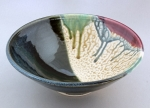 Ira Burhans - Multicolor Low Bowl