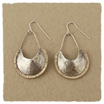 J & I Sterling Silver and 14k Gold Filled Earrings - GFX190E