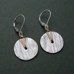 J & I Sterling Silver and 14k Gold Filled Earrings -  GWP39E