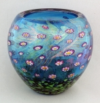 Hanson Art Glass:  Bowl - Tahiti