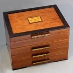Heartwood Creations - Jewelry Box - HW05 - 3 Drawer