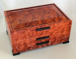 John Farrar Large Jewelry Box Bubinga and Wenge