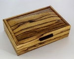 John Farrar Small Jewelry Box Black Limba and Wenge