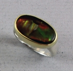 Jewellers' Guild - Fire Agate Ring - 12227-03