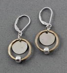 J & I Sterling Silver and 14k Gold Filled Earrings -  GFX100E