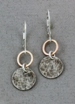J & I - Sterling Silver & Gold Filled Earrings - GFX173E