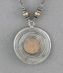 J & I Sterling Silver and 14k Gold Filled Necklace - GFX178N