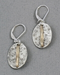 J & I Sterling Silver and 14k Gold Filled Earrings - GFX17E