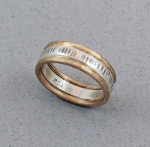 J & I - Sterling Silver and Gold-filled Ring - GFX215R