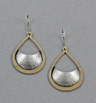 J & I - Sterling Silver & Gold Filled Earrings - GFX402E