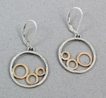 J & I - Sterling Silver & Gold Filled Earrings - GFX506E