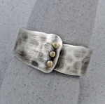 J & I - Sterling Silver & Gold Filled Ring - MCX7R